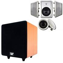 """Acoustic Audio HT-85 In-Wall/Ceiling 5.1 Home Theater 8"""""""