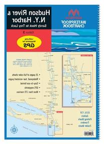 Maptech Waterproof Chartbook: Hudson River and New York