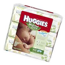 Huggies Natural Care Baby Wipes, 3 Soft Packs, Fragrance