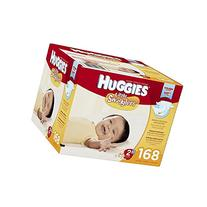 Huggies Little Snugglers Diapers, Size 2, 168 Count