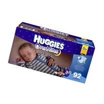 Huggies Overnites Size 3 Super Pack - 92 Count