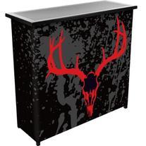 HUNT8000-SK Hunt Skull 2 Shelf Portable Bar with Case