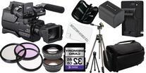 Sony HXR-MC2000U Shoulder Mount AVCHD Camcorder 32GB Package
