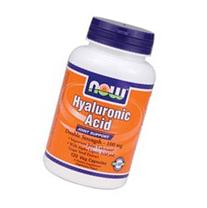 Now Foods Hyaluronic Acid 2X Plus Veg Capsules, 100 mg, 120