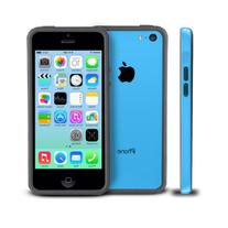 Photive Hybrid iPhone 5C Bumper Case - Blue. Designed for
