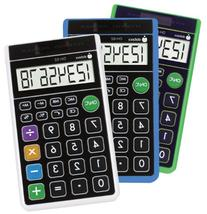Datexx Dh-62 Hybrid Wallet Style Calculator Assorted Colors