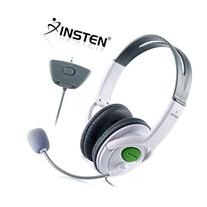 Insten Headset Headphone with Mic Compatible with Xbox 360