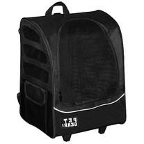 Pet Gear I-GO2 Plus Traveler Rolling Backpack Carrier for