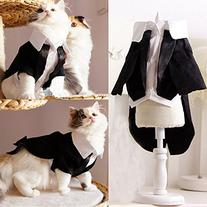 i'Pet® Handsome Prince Cat Bridegroom Wedding Tuxedo Faux