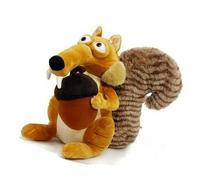 "1 X Ice Age-3 Plush 7.9"" /20cm Scrat Squirrel Doll Stuffed"
