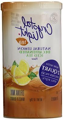 Crystal Light Iced Tea Decaf, Lemon, 1.0 Ounce