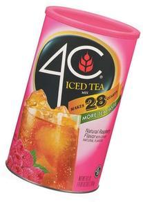 4C Iced Tea Mix Raspberry - 6 Pack