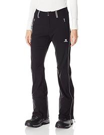 Salomon Women's Icejet Pant, Black, Large