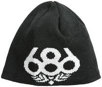 686 Boys Icon Fleece Beanie, Black, One Size