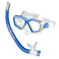 U.S. Divers Icon Mask and Airent Snorkel, Electric Blue