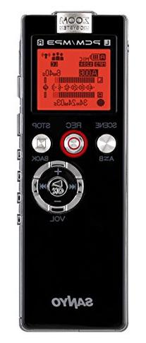 Sanyo ICR-EH800D Digital Voice Recorder