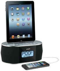 iHome iDN38 Dual Alarm FM Clock Radio for iPad/iPhone  USB