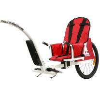 Weehoo iGo Blast Bike Trailer Red, One Size