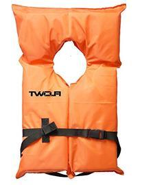 Flowt 40000-UNV AK-1 Type II Life Jacket, Orange, Adult