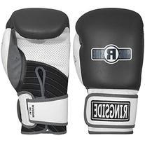 Ringside IMF Tech Bag Gloves, Black, Regular