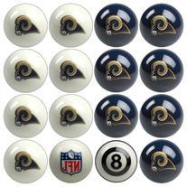 Imperial Billiards IMP-50-1127 St. Louis Rams NFL 8-Ball