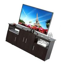 Inval Imported Modern Wooden Contemporary 60-Inch Flat Panel