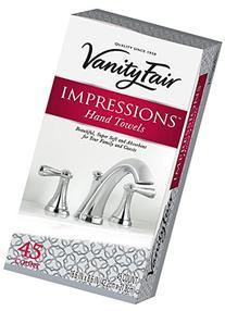Vanity Fair Impressions Entertain Hand Towel 45ct