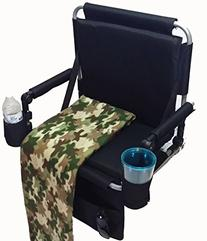 Oasis SS-500 Stadium Seat with Cellphone Holder