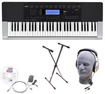 Casio Inc. CTK4400 EPA 61-Key Premium Keyboard Package with