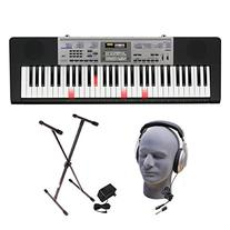 Casio LK-175 PPK 61-Key Premium Lighted Keyboard Pack with