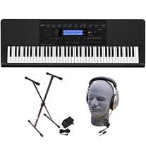 Casio WK-245 PPK 76-Key Premium Portable Keyboard Package