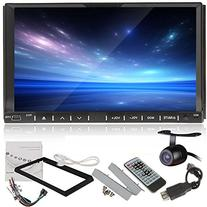 LELEC 7 Inch 2Din Touch Screen Radio Stereo WINCE Built-in