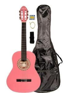 "36"" Inch 3/4 Pink Student Beginner Classical Nylon String"