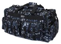 "Mens Large 30"" Inch ACU Navy Digital Camo Duffel Duffle"
