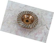 "TEMO 4"" inch 5/8"" DIAMOND TURBO segment Grinding Cup Wheel"