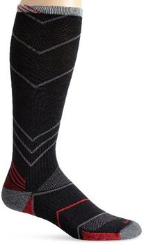 Sockwell Men's Incline CompressionSocks, Black, Medium/Large