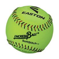 "Easton Incrediball 12"" Neon SoftStitch Training Softball"