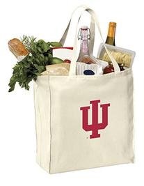 Reusable Indiana University Grocery Bags or IU Shopping Bags