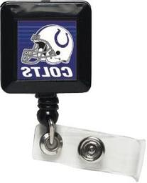 Indianapolis Colts Official NFL 1 inch x 1 inch Retractable