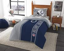 """NFL Indianapolis Colts Soft & Cozy Twin Comforter Set , 64"""""""