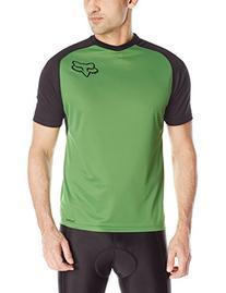 Fox Men's Indicator Shorts Sleeve Jersey, Green, X-Large