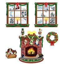 """Beistle 20213 Printed Indoor Christmas Décor Props, 15"""" to"""