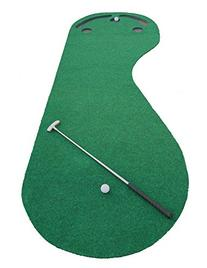 Indoor Golf Practice Cups Training Mat Putting Green Par