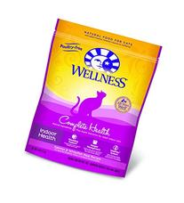 Wellness Complete Health Natural Dry Indoor Cat Food, Salmon & Whitefish, 5-Pound Bag