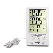 LingsFire® Digital LCD Indoor/Outdoor Thermometer Humidity