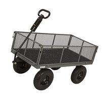 Industrial-Grade Steel Wagon - 1200-Lb. Capacity, 13in.