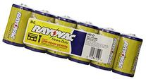 """Rayovac Industrial Heavy Duty """"D"""" Batteries, pack of 6"""