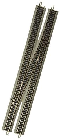 Bachmann Industries E-Z Track 6 Single Crossover Turnout -