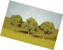 """Bachmann Industries Scene Scapes Trees 2¼""""- 2½"""" Oak Trees"""