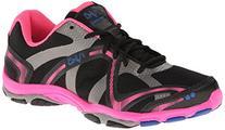 RYKA Women's Influence Training Shoe,Black/Atomic Pink/Royal